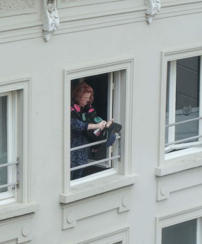 Zoë Sluijs through my bedroom window